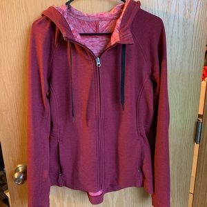Red Lululemon Sweatshirt